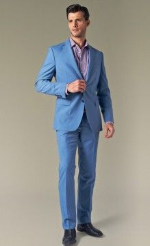 blue mens suit - Google Search | my wedding wear | Pinterest ...