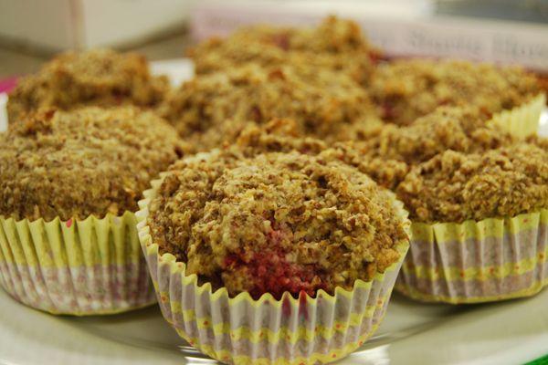 Raspberry oat bran muffins | Cityline