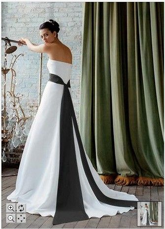 wedding dress with navy sash google search