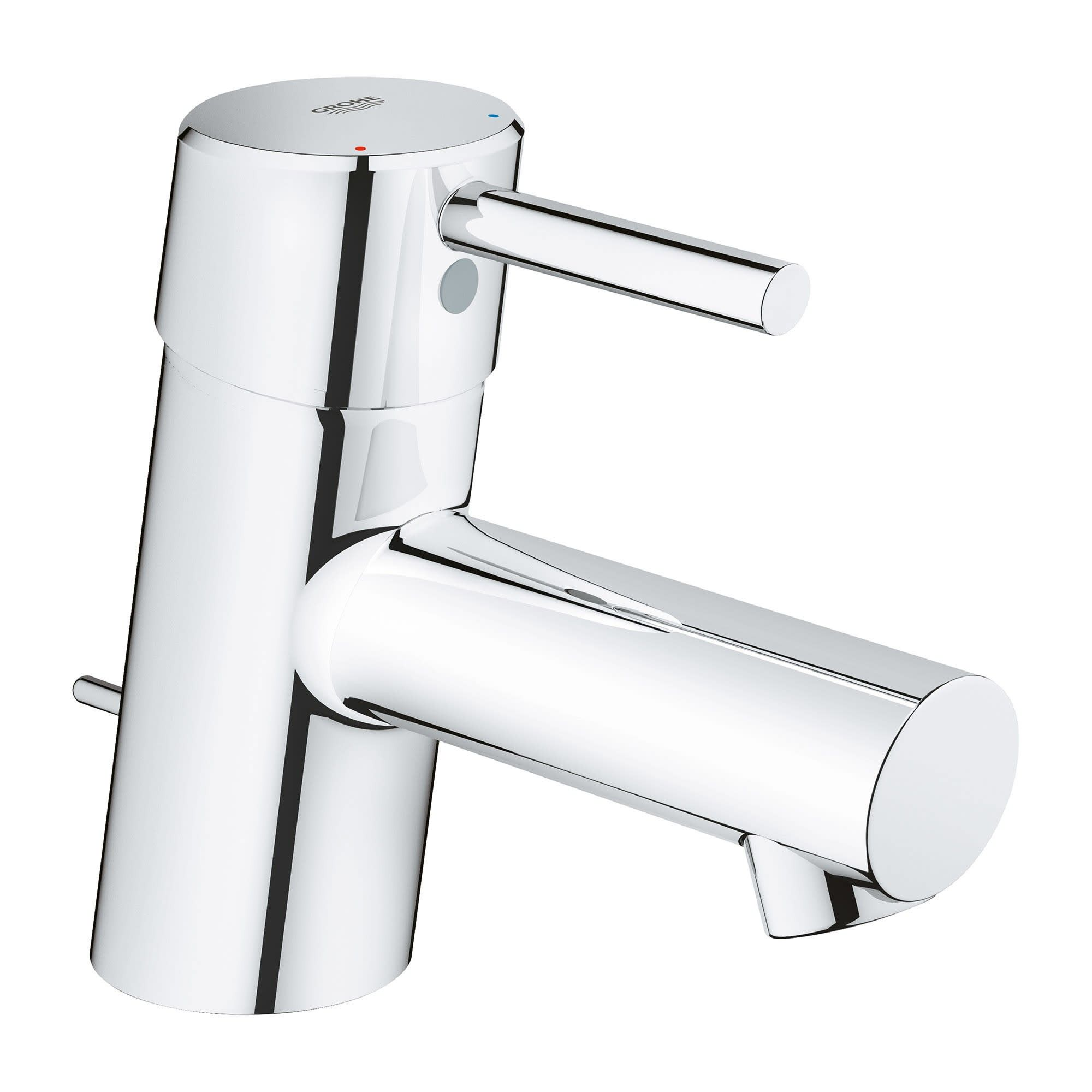 Grohe America Inc 34 702 Grohe 34 702 Concetto 1 2 Gpm Single Hole Bathroom Faucet With Silkmove Starlight Chrome In 2020 Bathroom Faucets Single Hole Bathroom Faucet Single Handle Bathroom Faucet [ 2000 x 2000 Pixel ]