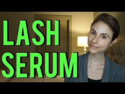 (45) Eyelash growth serum review (Latisse)|Dr Dray ...