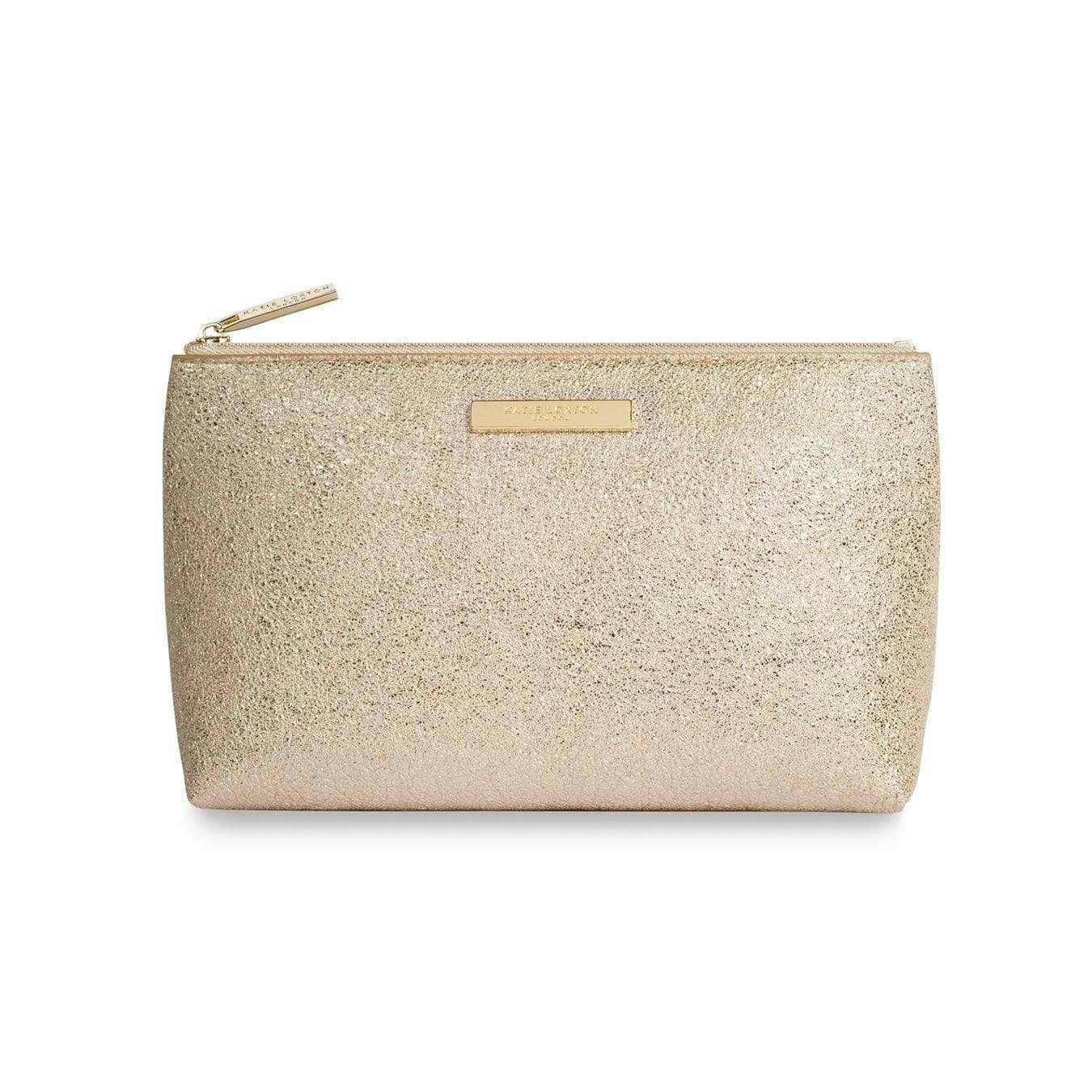 Katie Loxton Mia Metallic Gold Make Up Tasche KLB383 S – Einheitsgröße