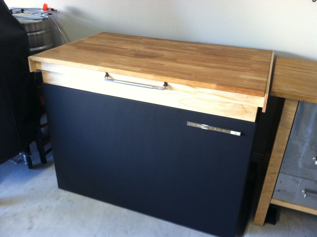 50 Cu Ft Chest Freezer Kegerator As We Can See From Red