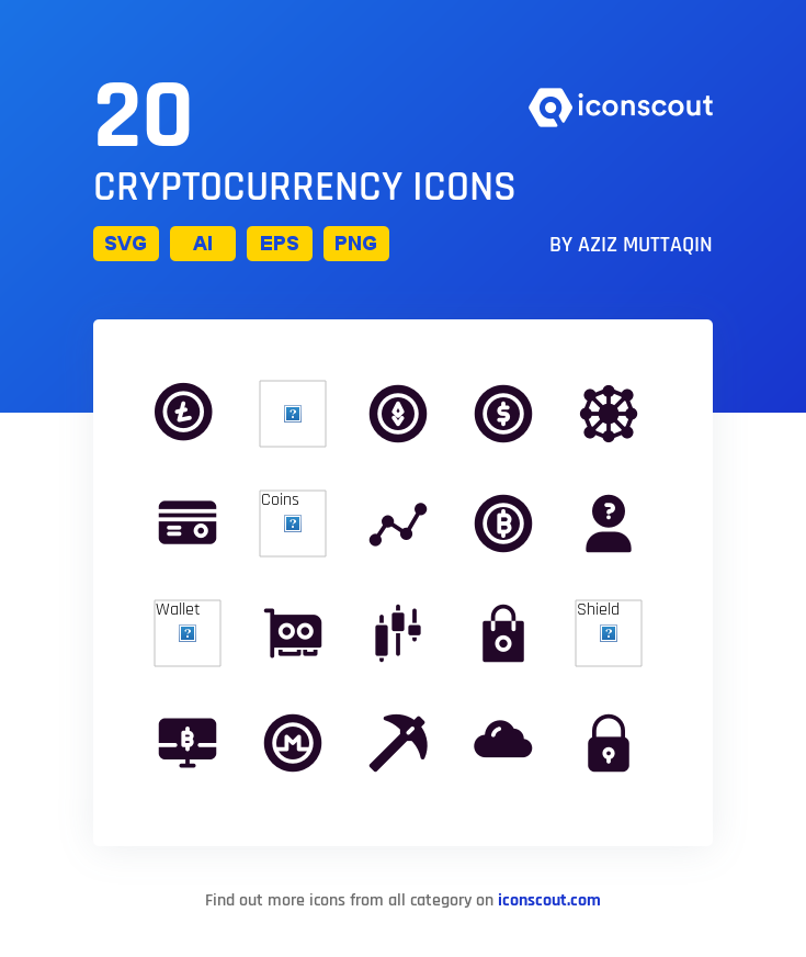 cryptocurrency coin glyphcona