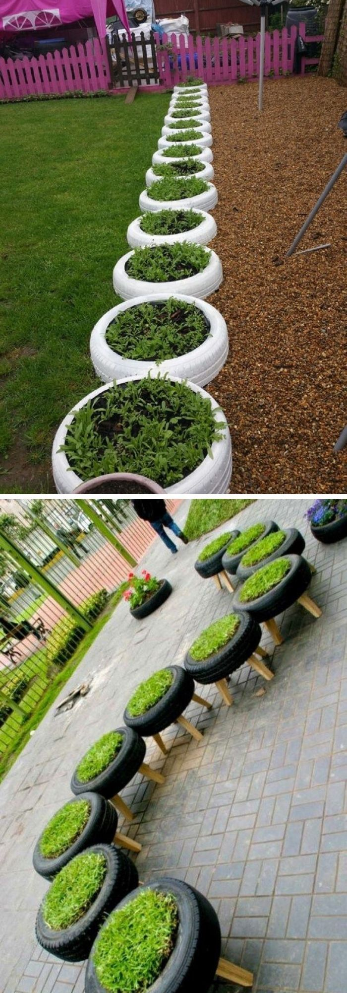 20+ Best DIY Tire Planter Flower Pot Ideas & Projects For 2020