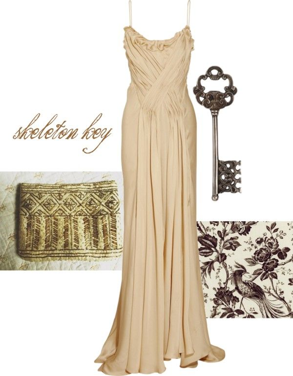 """skeleton key #3"" by kiarabalthazar ❤ liked on Polyvore"