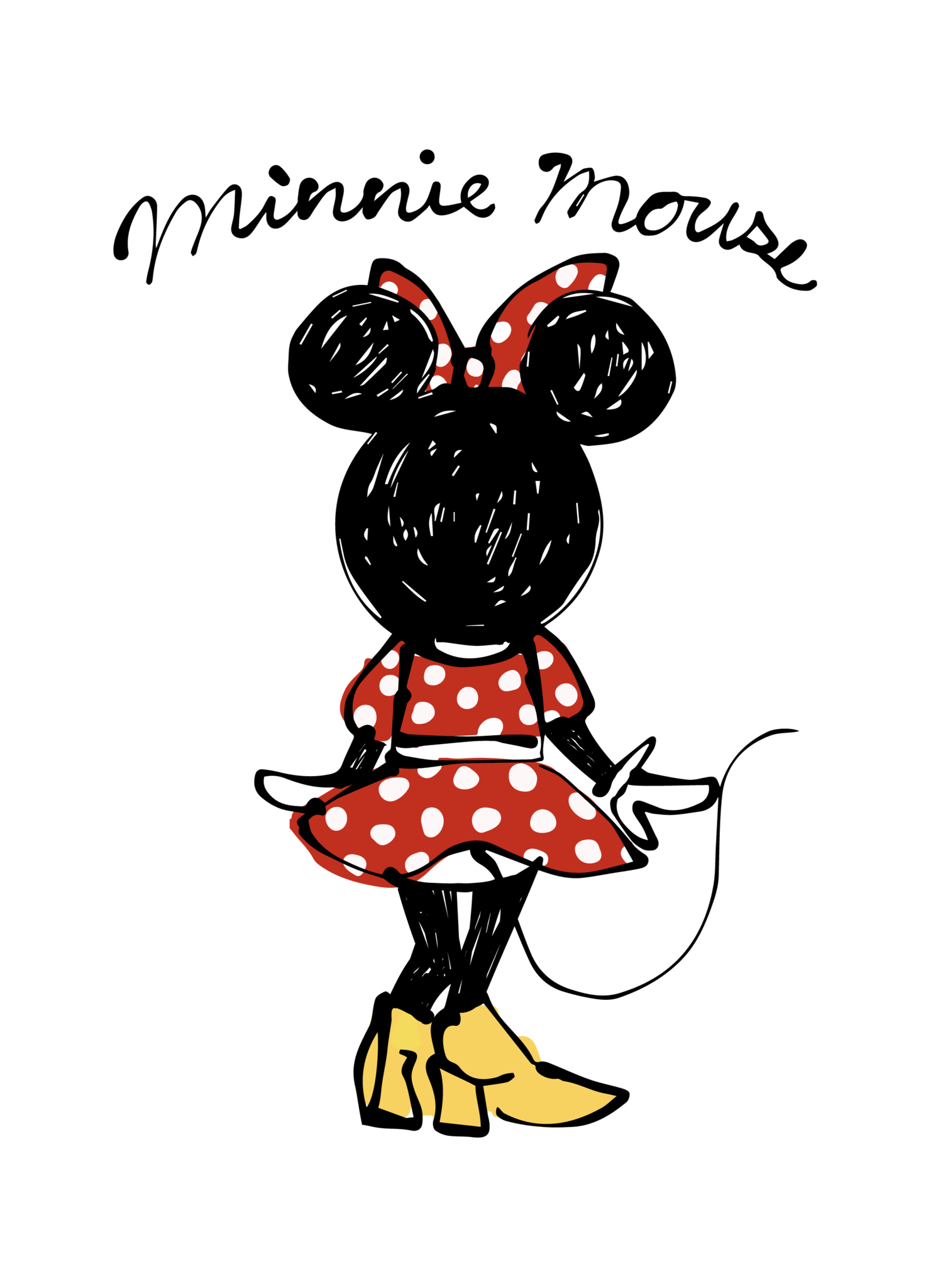 Daichimiura Disney ミッキー ミニー イラスト ミニー イラスト