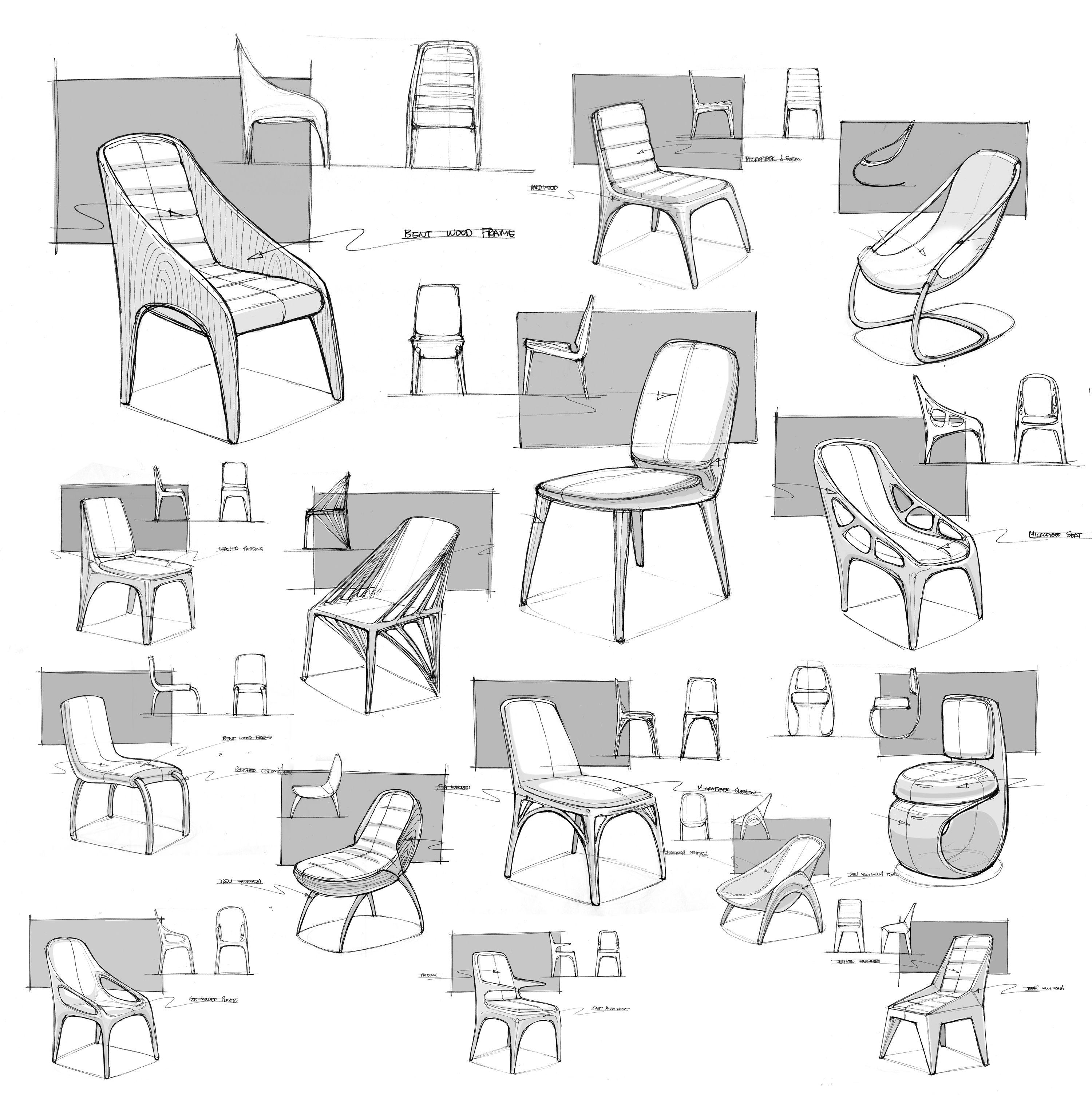 Design Sketch Chair Furniture Design Sketches Industrial Design Sketch Chair Design