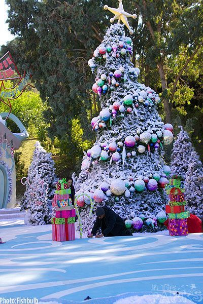 Image result for whoville christmas tree in the movie Christmas - christmas decor pinterest