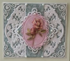 My bloggie cards: Birthday cards....marriane dies..me