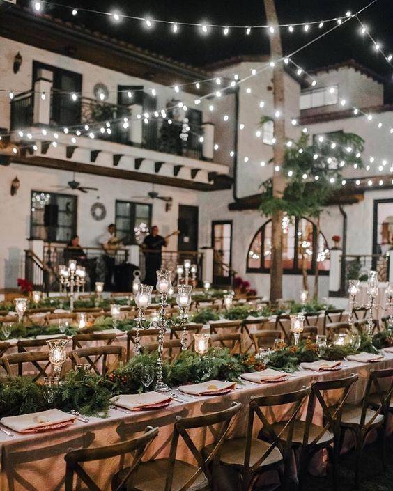 Small Country Wedding Ideas: Wedding Reception Inspiration
