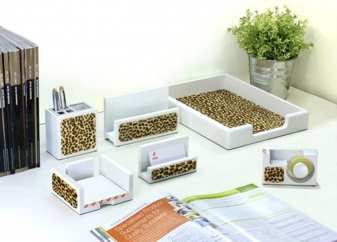 Animal Print Desk Accessories My Personal Style Desk