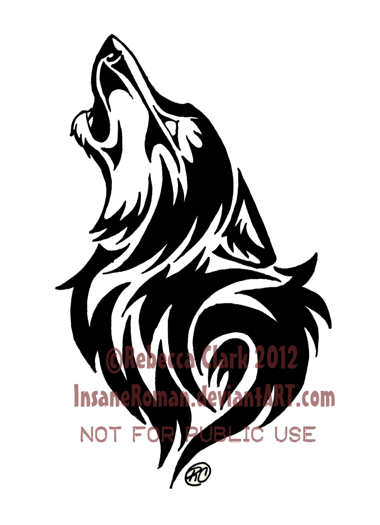 Howling Wolf Tribal by InsaneRoman.deviantart.com on ...