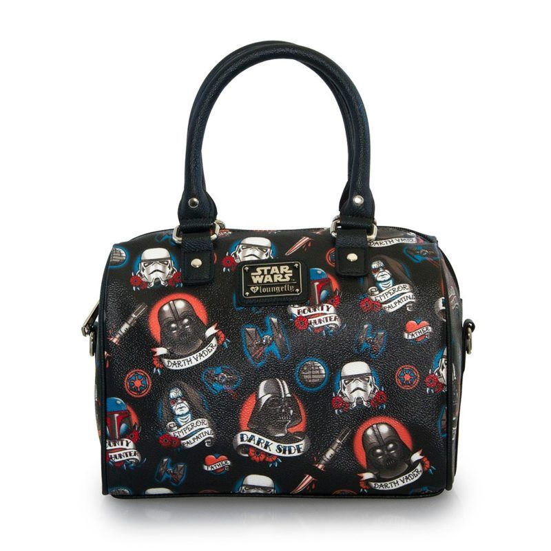 Loungefly X Star Wars Dark Side tattoo duffle bag a984823fb67c4