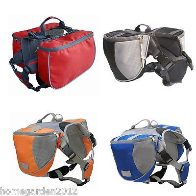 Pet pack dog saddle #backpack medium and #large big dogs bag for #outdoor trainin,  View more on the LINK: 	http://www.zeppy.io/product/gb/2/391077214430/