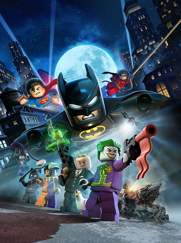 Lego Batman 2 DC Super Heroes on Behance | Bathman | Pinterest ...