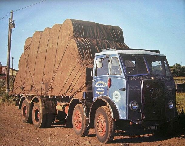 1956 Seddon Atkinson Uk Old Lorries Trucks Old Trucks