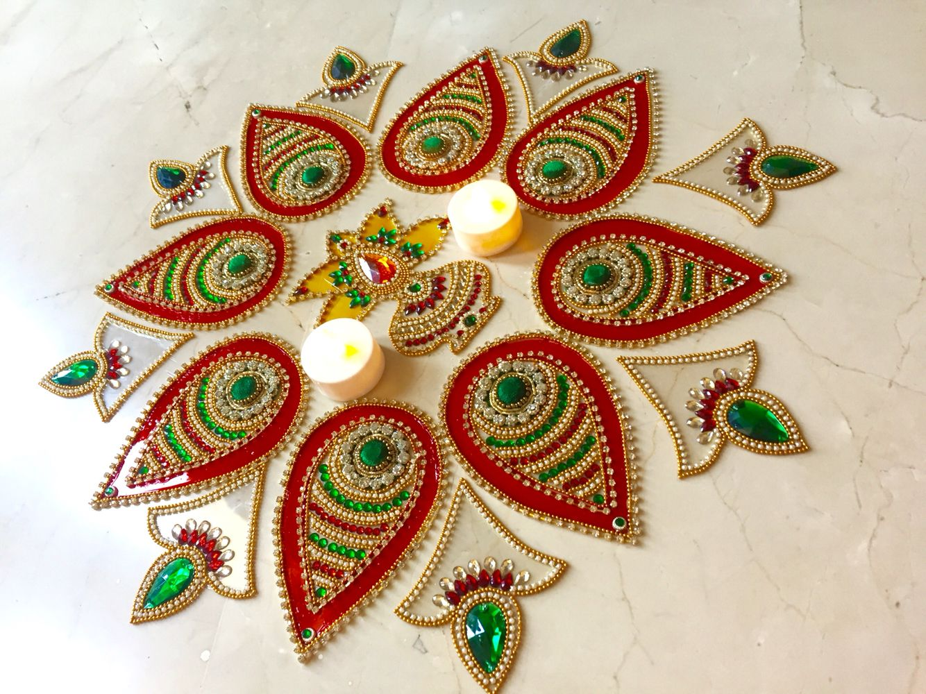 Designer Rangoli By Suave Collection
