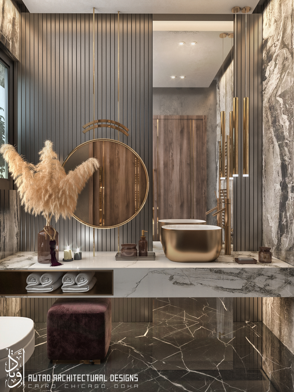 Luxurious Toilet On Behance Bathroom Design Luxury Washroom Design Bathroom Interior Design