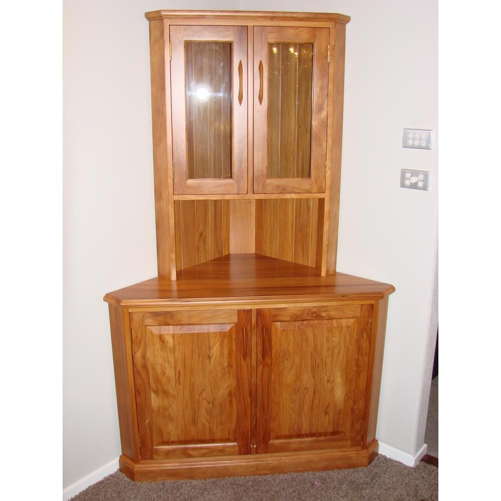 Illustration Of Corner Dining Room Hutch Storage Ideas  Storage Enchanting Corner Hutch Cabinet For Dining Room Review