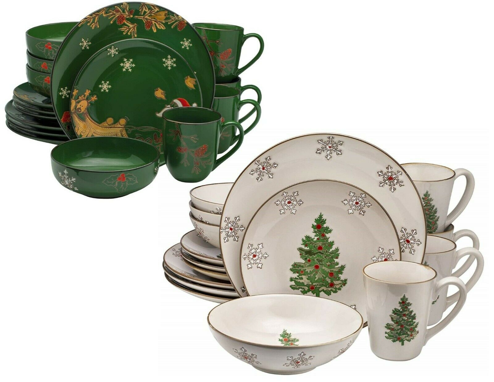 Christmas Ceramic Classic & Modern Dinnerware Set Dinner Plates Bowls Mugs  - Dinnerware - Ideas of Dinnerware #Dinnerware #casualdinnerware Christmas Ceramic Classic & Modern Dinnerware Set Dinner Plates Bowls Mugs  - Dinnerware - Ideas of Dinnerware #Dinnerware #casualdinnerware