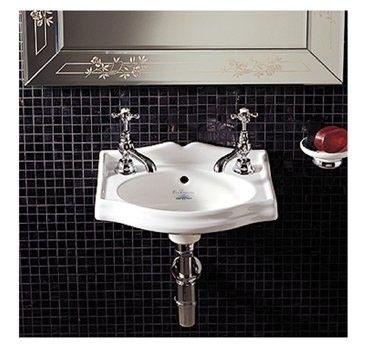 Whitehaus Ar035 C White Porcelain Rectangular Wall Mount Bathroom Basin Sink Wall Mounted Bathroom Sinks Wall Mounted Basins Basin Sink Bathroom