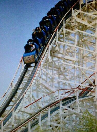 Texas Cyclone Six Flags Houston Astroworld Houston Roller Coaster