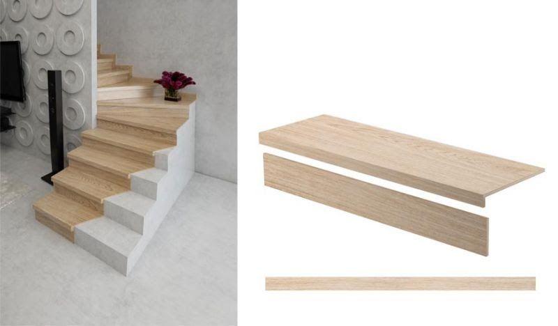 Renover Un Escalier Des Kits Pour Habiller De Bois Des Marches D Escalier Habillage Escalier Habillage Escalier Beton Renovation Escalier Bois