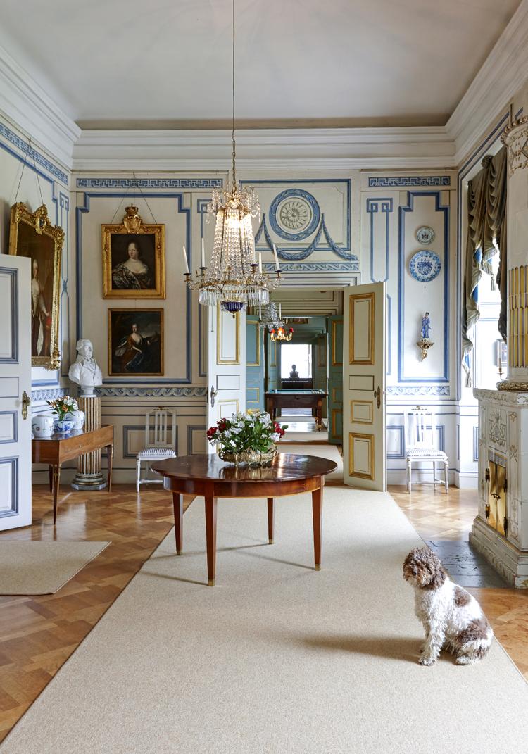 Gustavian Interior (1776-1786), Tidö Castle (Swedish: Tidö slott), Västerås, Sweden