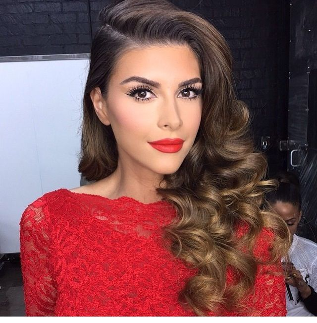 Instagram Post By B R A N D I Bpalestino Prom Makeup Red Dressmakeup