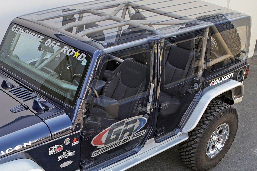 Genright Jk 4 Door Roll Cage Kit Roll Cage Jeep Jk Offroad Jeep
