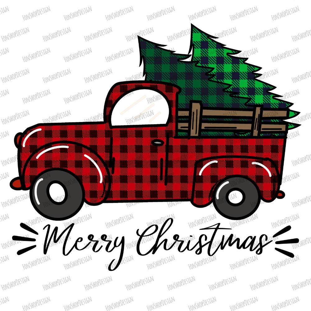 Buffalo Plaid Merry Christmas Truck Trees Png Red Truck Etsy Plaid Christmas Decor Christmas Red Truck Buffalo Plaid Christmas Decor