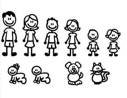 Imagenes De Familia Para Autos Buscar Con Google Imágenes De Familia Dibujo De Muñecos Familia Dibujos
