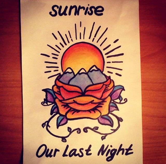 Our Last Night Night Tattoo Our Last Night Artist Quotes