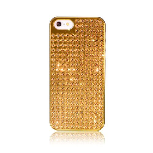 Black Friday Bling-My-Thing Bling Extravaganza Series Metallic Case for iPhone 5 (Light Colorado Topaz) from Bling-My-Thing