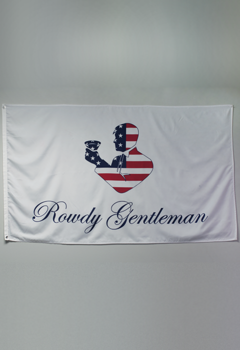 3 X 5 Official Rowdy Gentleman Flag American Flag