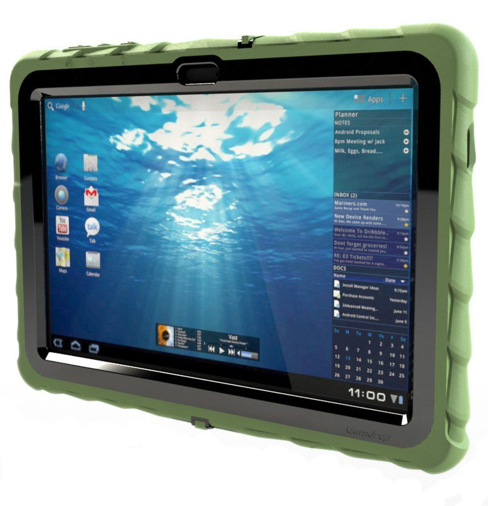 Samsung Galaxy Tab 2 Kids Case Gumdrop Plastic Screen Cover Included Non Slip