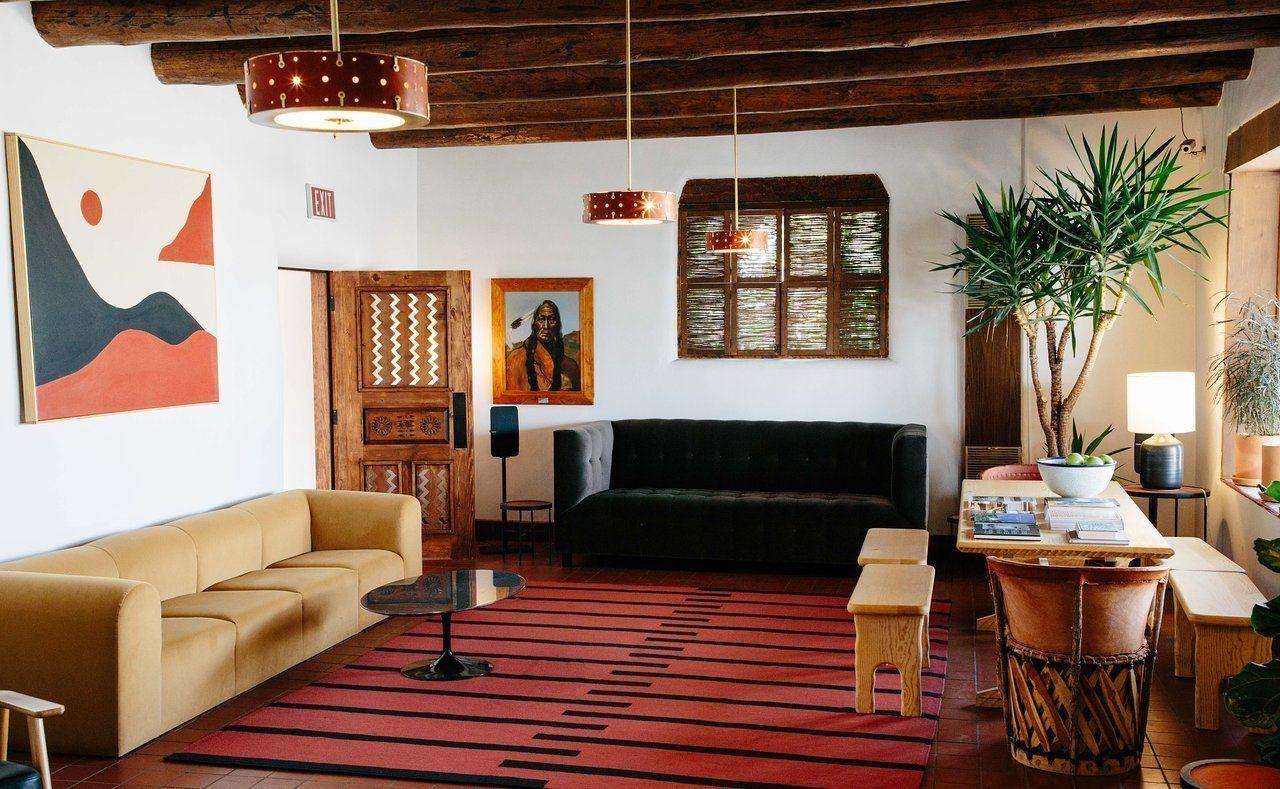 El Rey Court Modern Hotel In Santa Fe New Mexico On Dwell Modular Sofa Design Living Room Modern Design #santa #fe #living #room