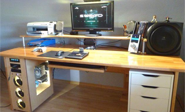 Schreibtisch Selber Bauen Arbeitsplatte Luxus Das Beste Von 40 Schreibtisch Selb Diy Mobel Modern Computer Desk Desk Modern Office Decor