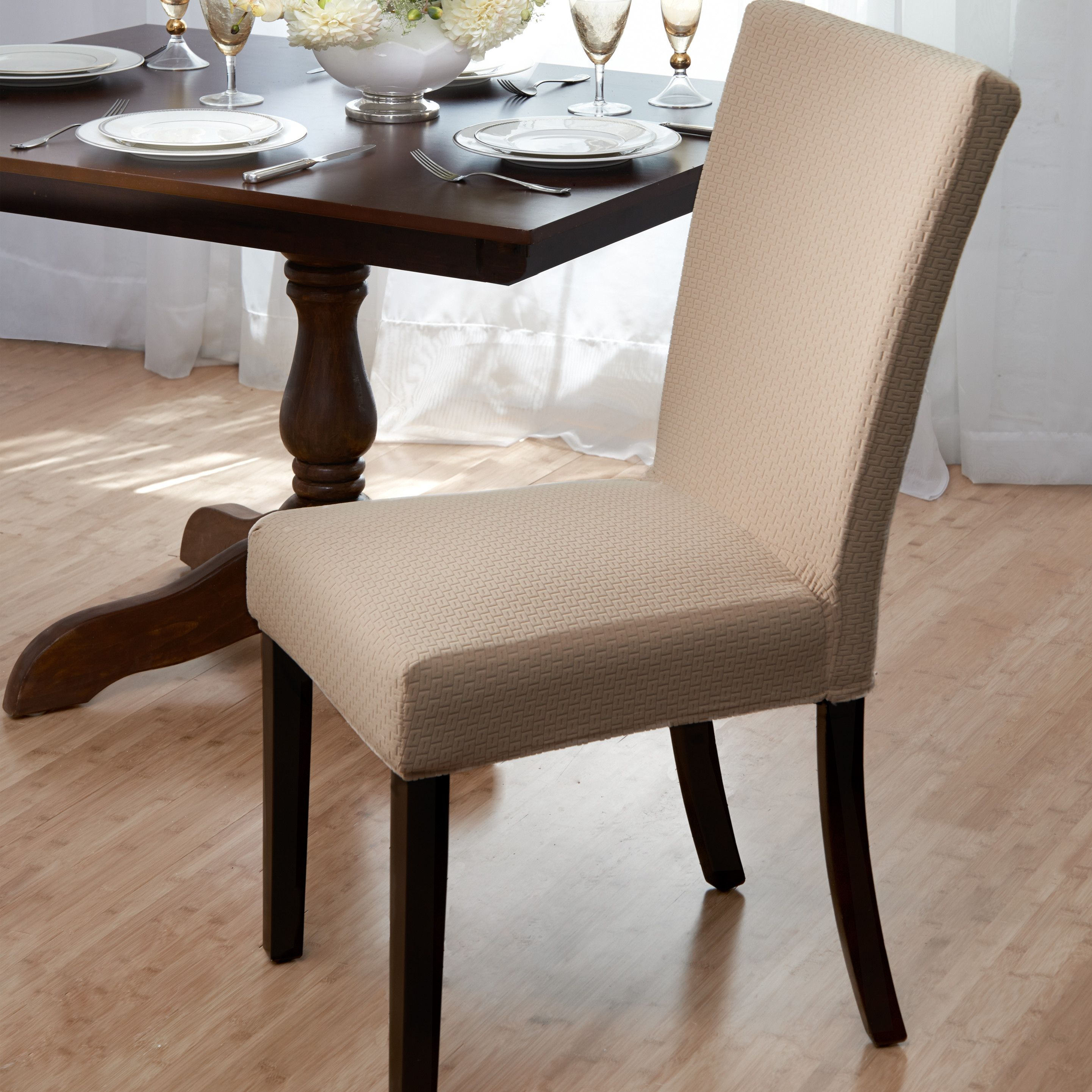 Room Queen Anne Dining Chair Slipcovers