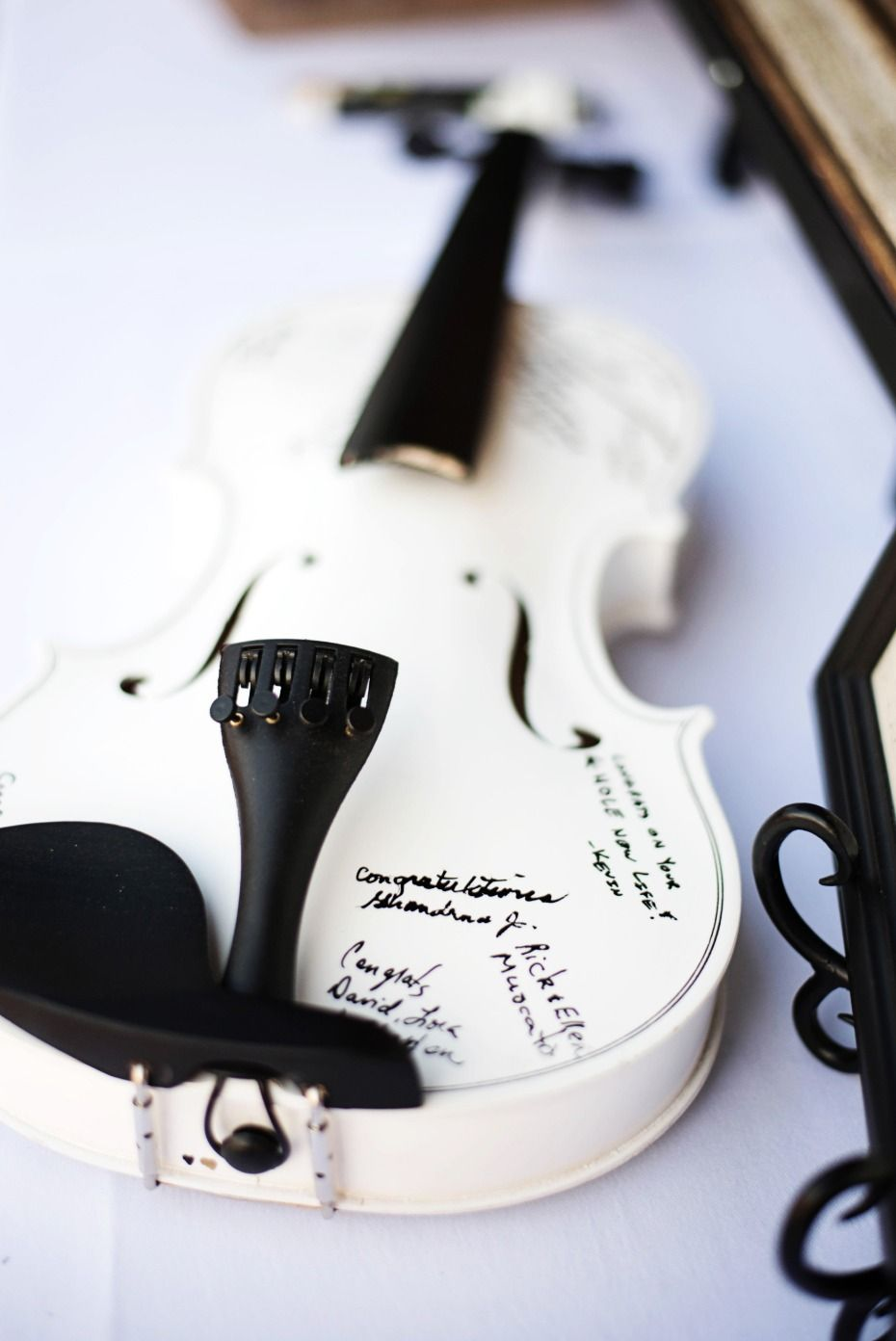 A Music of the Night wedding for Two Orchestra Players | Guestbook ...