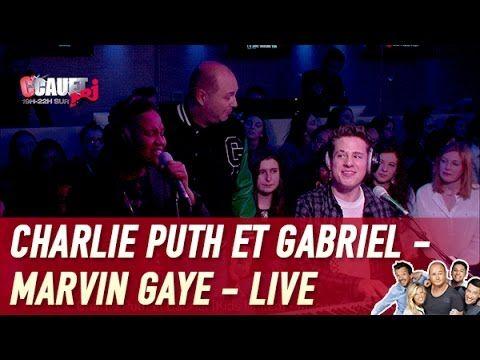 Charlie Puth et Gabriel (Kids United) - Marvin Gaye - Live