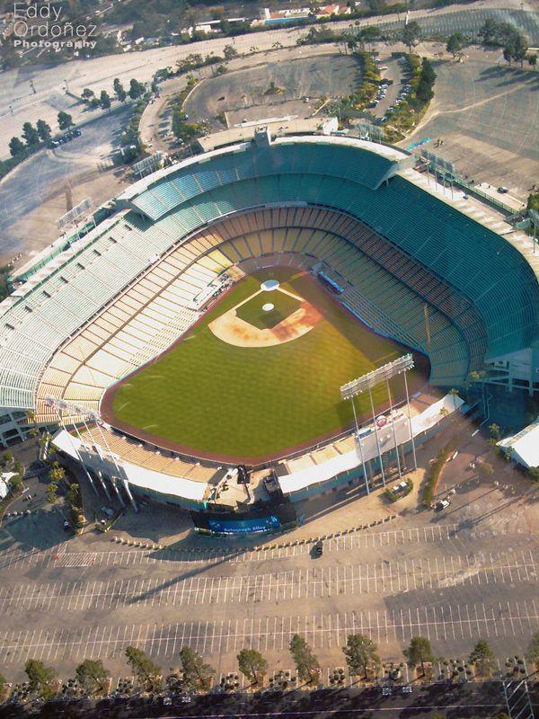 Aerial Photograph Of Dodger Stadium Taken May 2010 Dodger Stadium Aerial Photograph Aerial