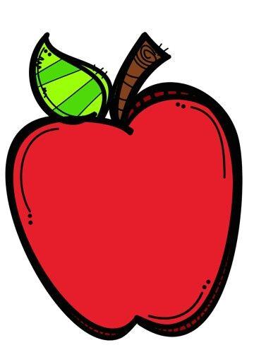 Manzana Manzanas Dibujo Dibujo De Escuela Dia De Los Maestros
