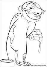 Curious George Coloring Book Pages To Print For Free AWESOME
