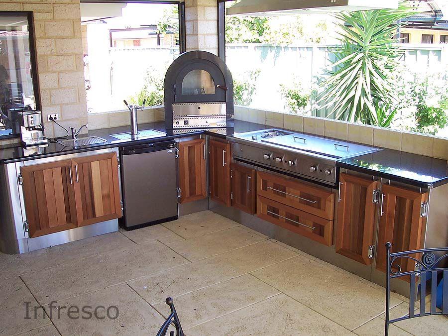 Alfresco Kitchen Example 192 by Infresco   Outdoor Kitchens with ...