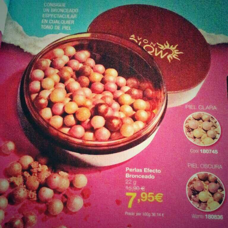 Perlas bronceadoras 7,95 € en C3