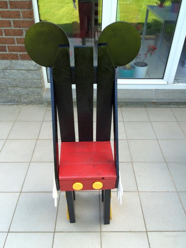 Chaise Mickey Objet Et Meuble En Palette Meubles Palettes Idee