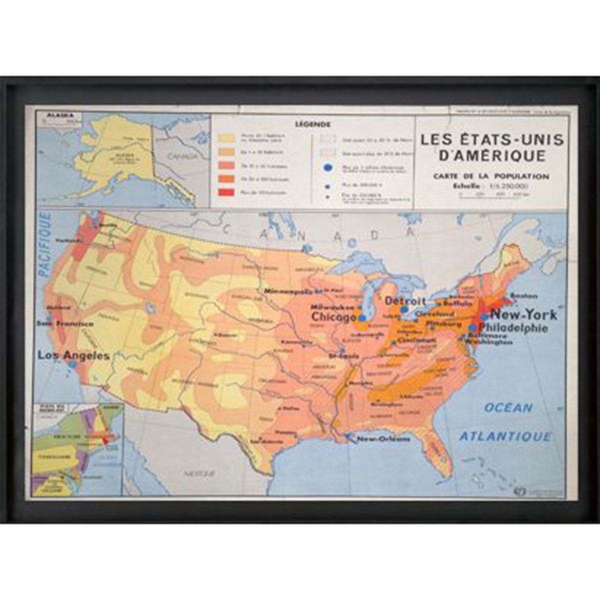I Liked This Design On Fab Vintage Map Of Usa Vintage School Map Vintage Map Vintage School