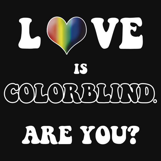 colorblind love Color-blind definition is - affected with partial or total inability to distinguish one or more chromatic colors how to use color-blind in a sentence affected with partial or total inability to distinguish one or more chromatic colors insensitive, oblivious.